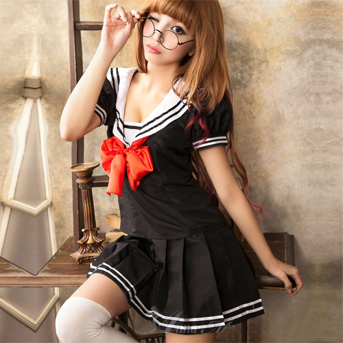 Japanese Schoolgirl Black